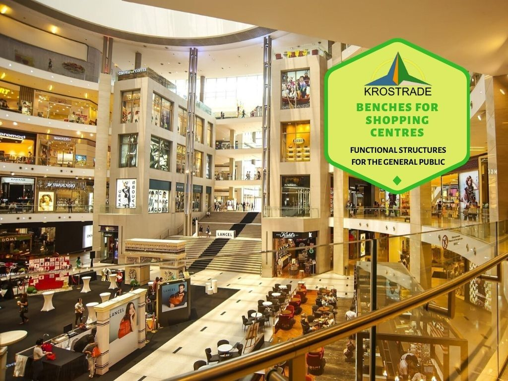 Benches For Shopping Centres - Krostrade