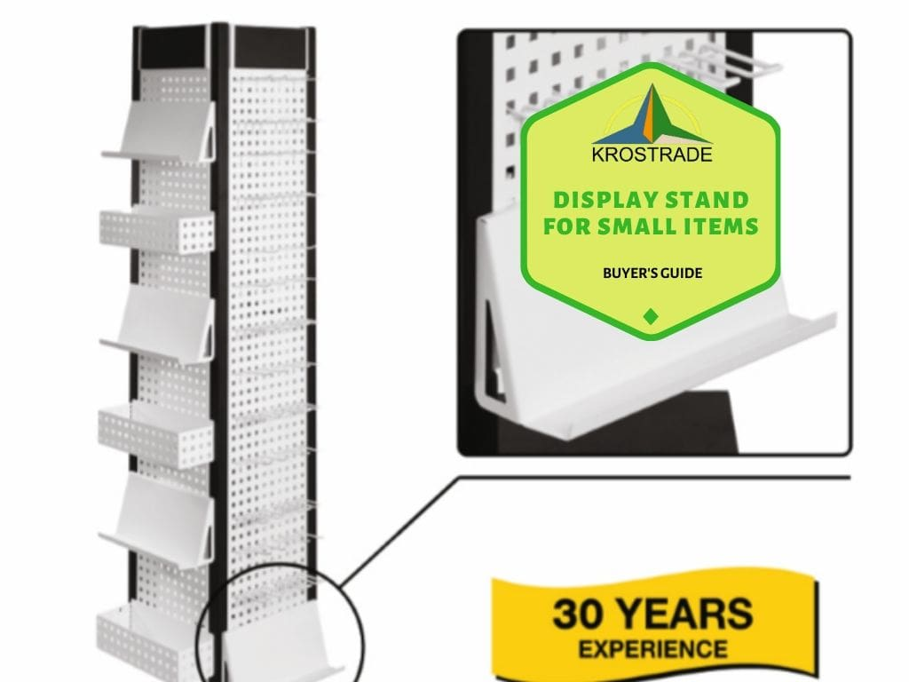 Display Stand for Small Items. Buyer's Guide