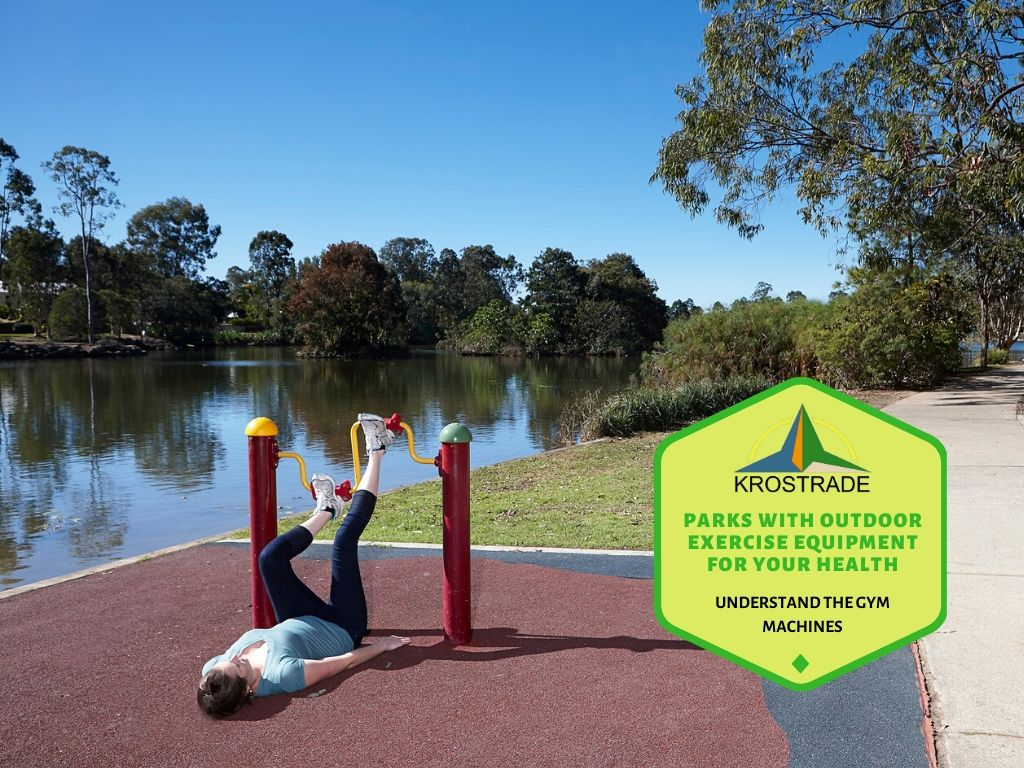 Creating the workout landscape with outdoor accessories
