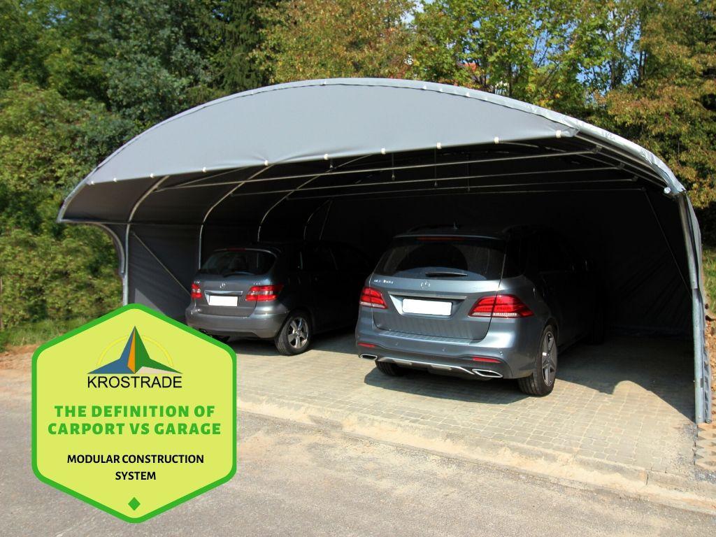 The Definition of Carport vs Garage - Krostrade