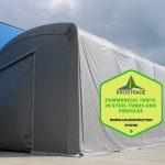 Commercial Tents In Steel Tubes And Profiles