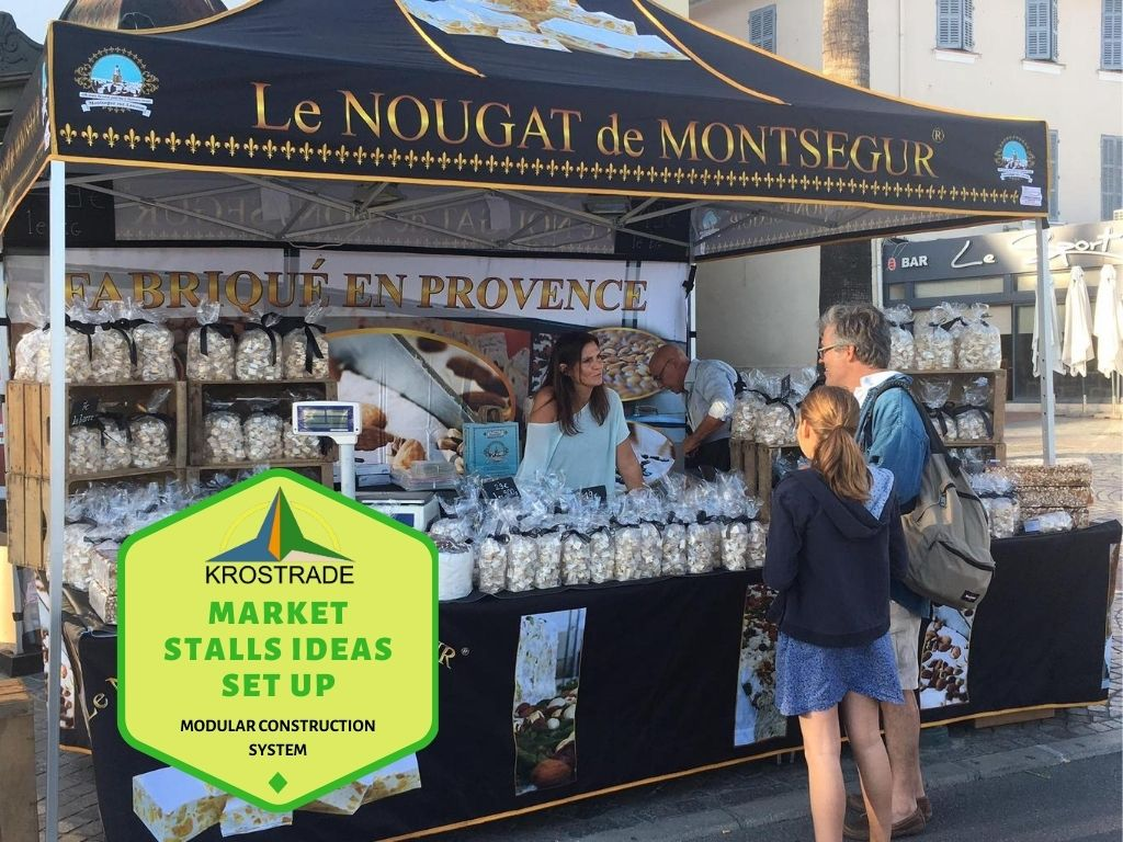 Attracting customers with the perfect market stalls set up