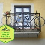 Tips for Storing Bike on Balcony