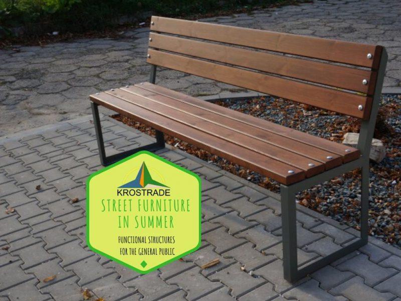 Street Furniture In Summer - Krostrade