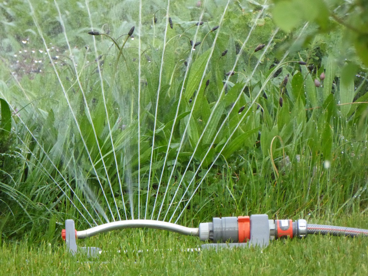 how to increase GPM for sprinkler system