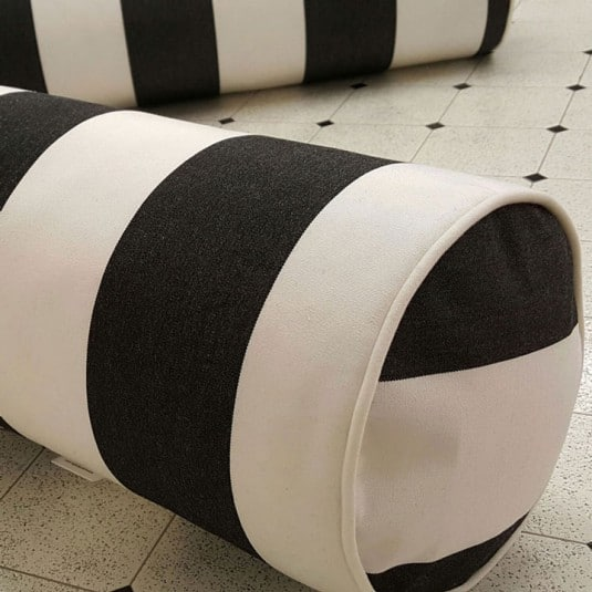 How to sew a cylinder pillow