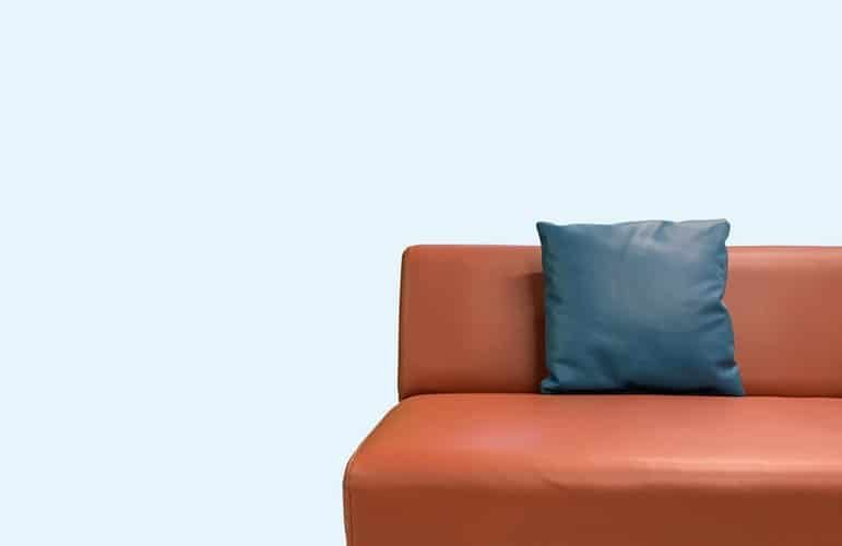 How to Reupholster a Couch Pillow