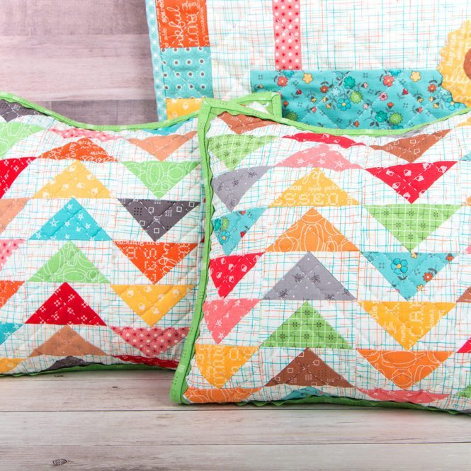 How to make a quilted pillowcase