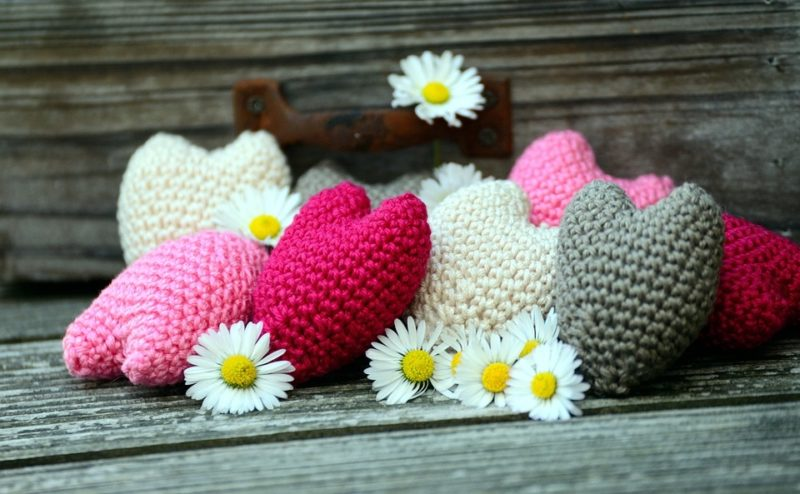 How To Crochet A Heart Blanket