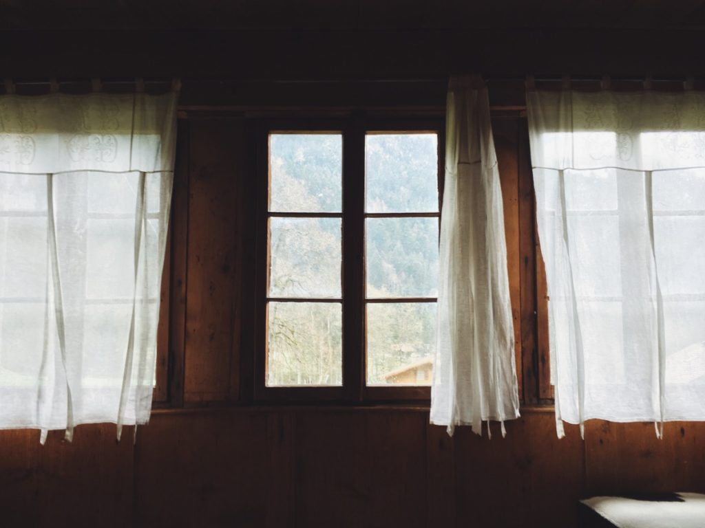 How to fix curtains that are too long