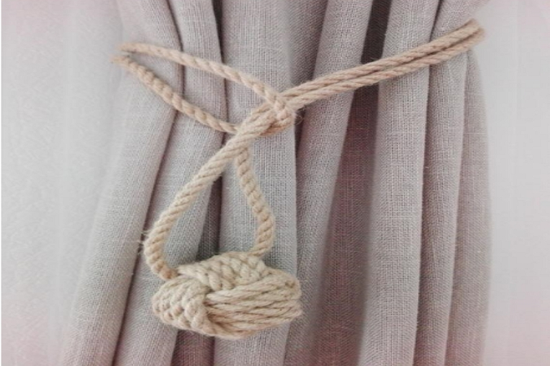 How to make Tie Back for Curtains