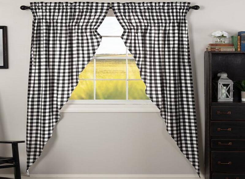 how to make prairie curtains