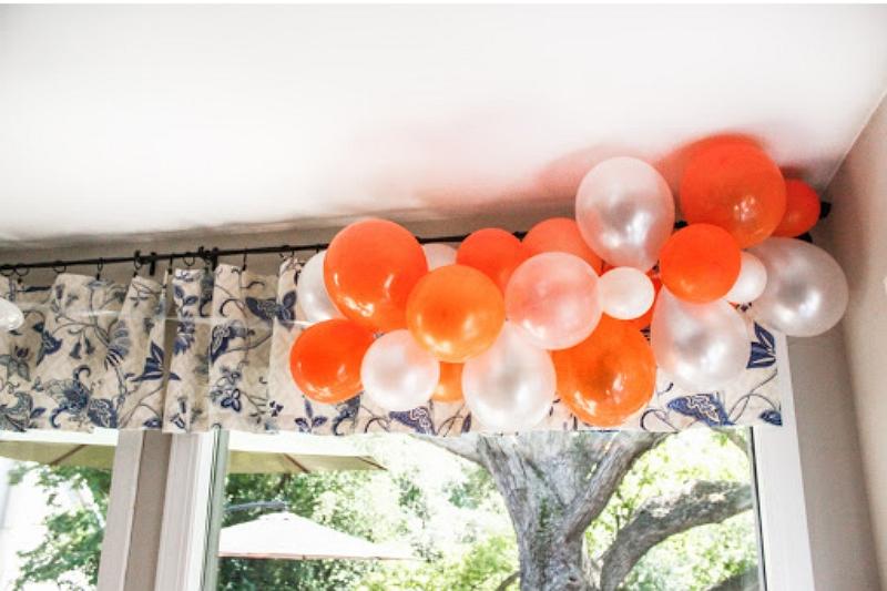 howto hang balloon curtains