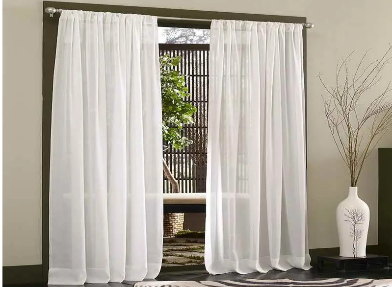 How to Make Door Curtains