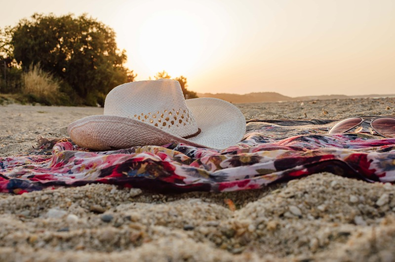 how to make a beach blanket