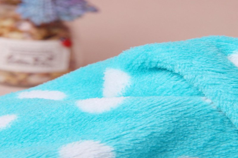 how to sew a double sided fleece blanket