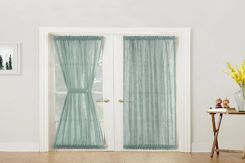 How to Make Sheer Curtains For French Doors