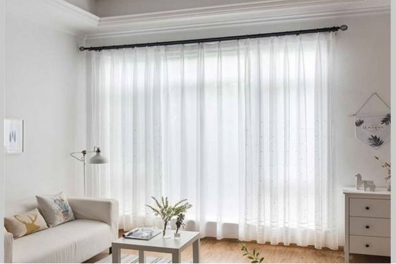 How to measure for sheer curtains