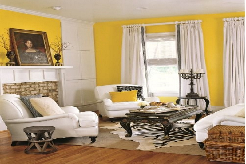 What Color Curtains Go With Yellow, What Color Walls With Yellow Curtains
