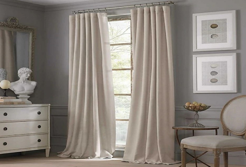 curtain color ideas for light grey walls