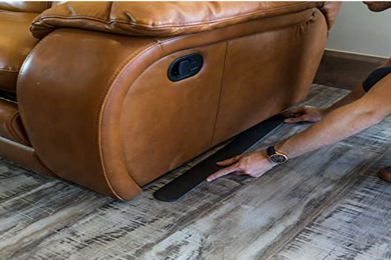 how to keep recliner from sliding on carpet