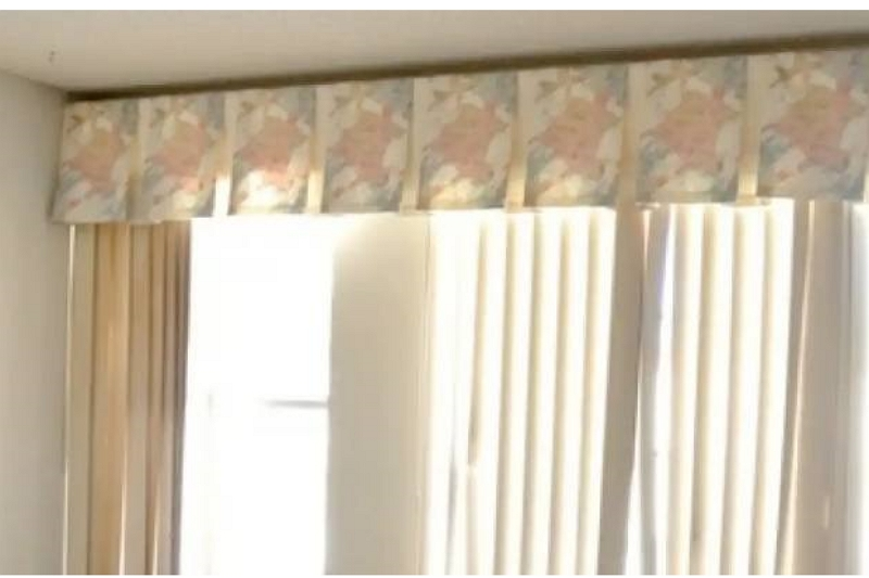 how to decorate vertical blinds with curtains