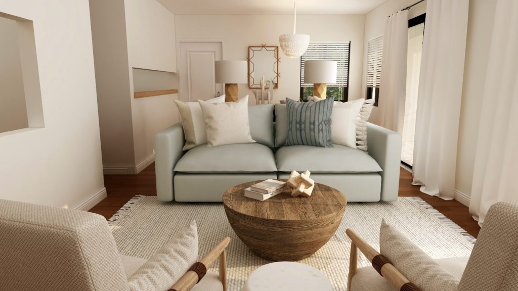what is a t cushion loveseat slipcover