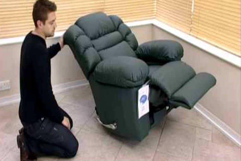 how to remove the seat from a lazy boy recliner