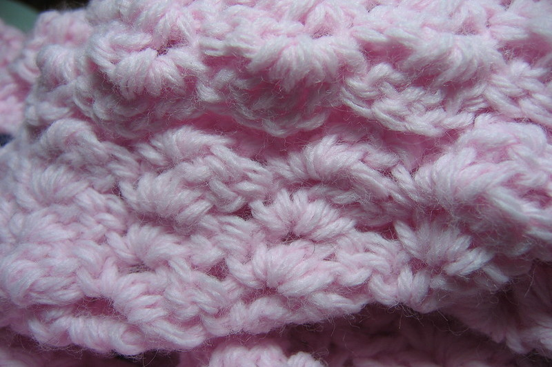 how to finish a shell crochet blanket