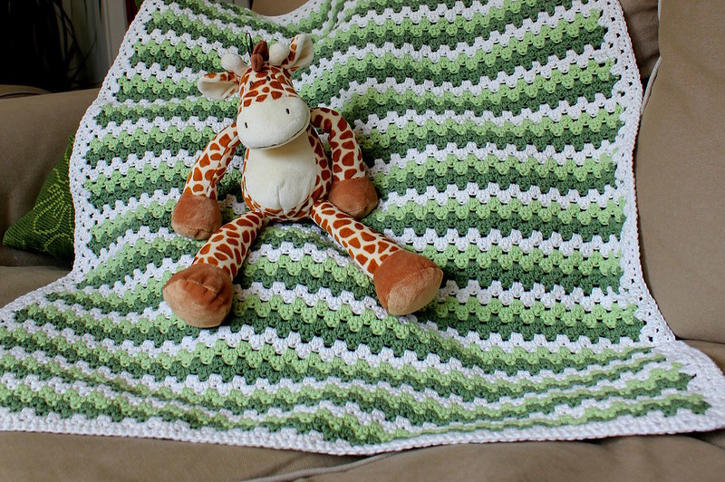 how to fold a baby blanket