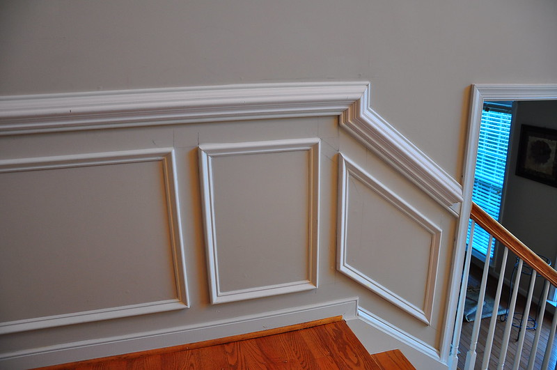 how to install chair railings