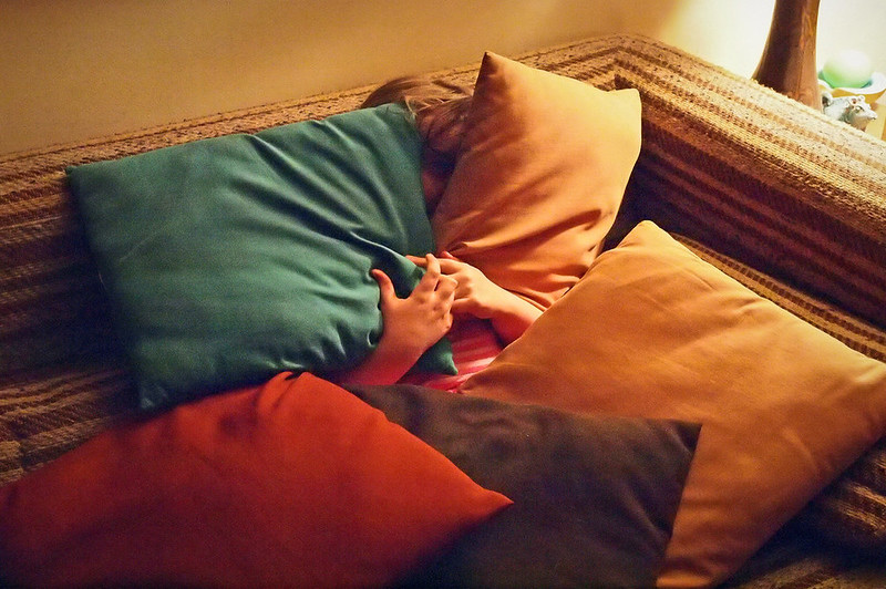 how to make a pillow blanket combo