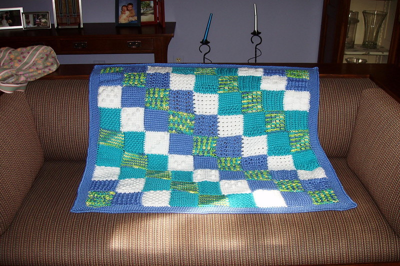 how to make a weighted lap blanket