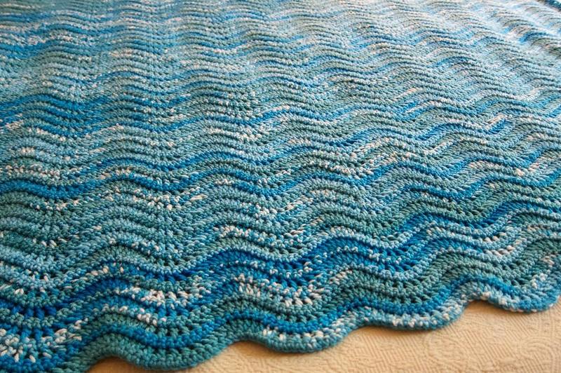 how to wash handmade crochet blanket