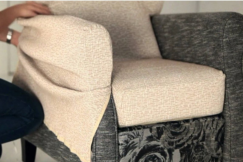 how to make a vinyl cover for a recliner