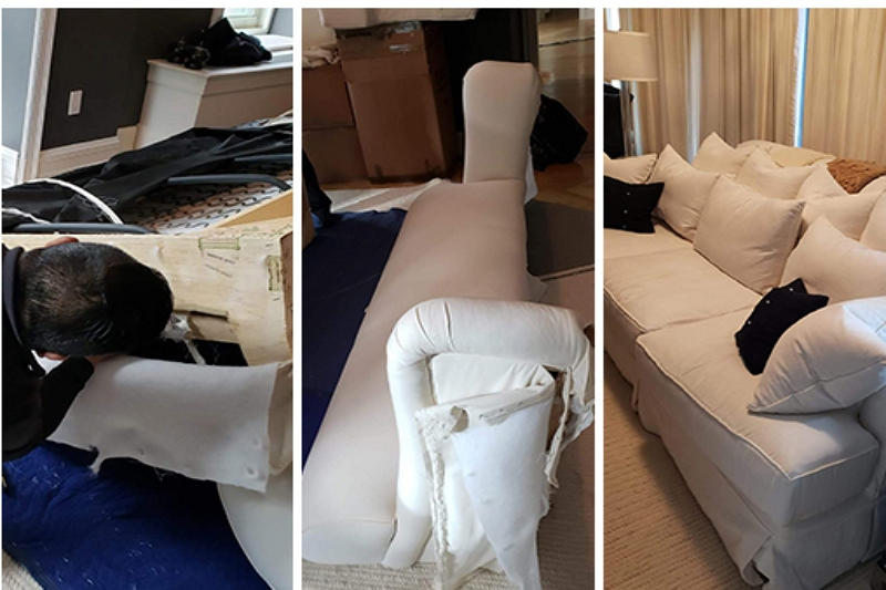 how to dismantle a sofa recliner