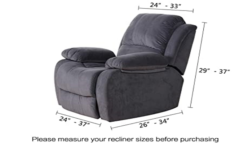 How Recliner Chairs are Measured
