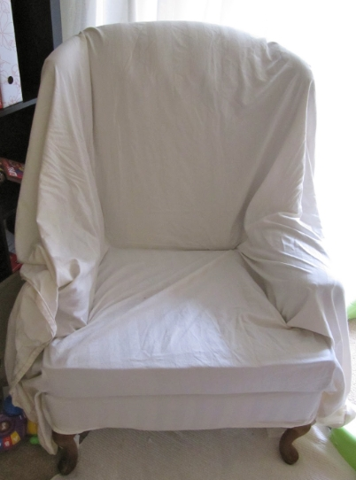 How to Cover a Recliner with a Sheet