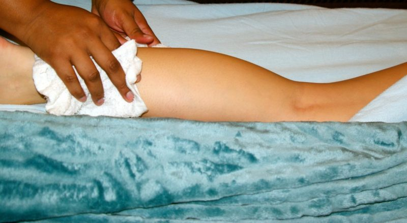 How to get rid of tanning bed burn