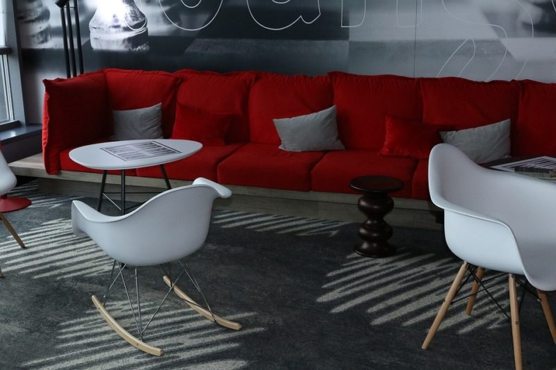 Red Sofa What Color Walls
