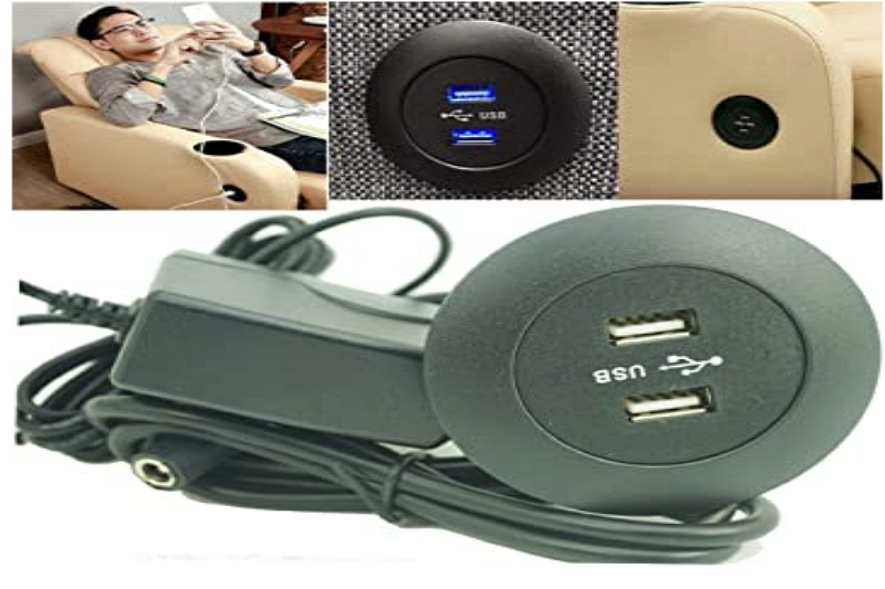 USB Port in a Recliner