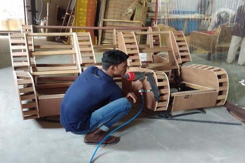 Building a Recliner Frame