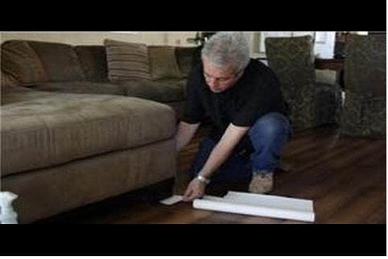 Recliner Slides on Vinyl Floor