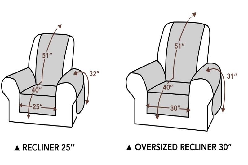 How to Measure Recliners