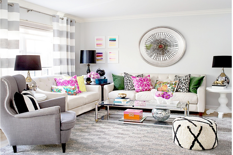 Loveseat and Swivel Chair