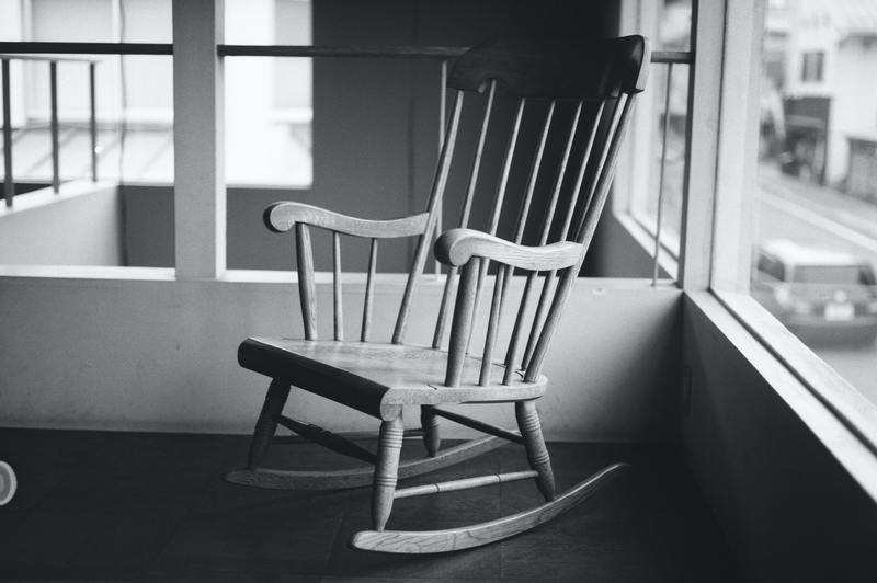 how to refinish a wooden rocking chair