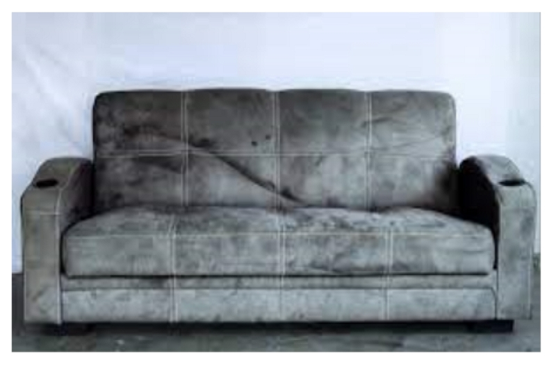 how to paint a microfiber recliner