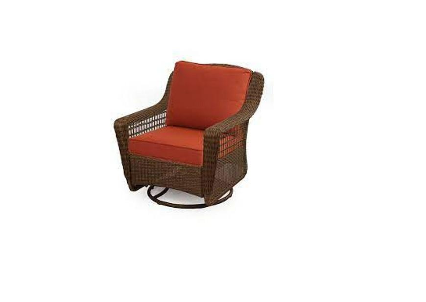 Hampton Bay Swivel Rocking Chair