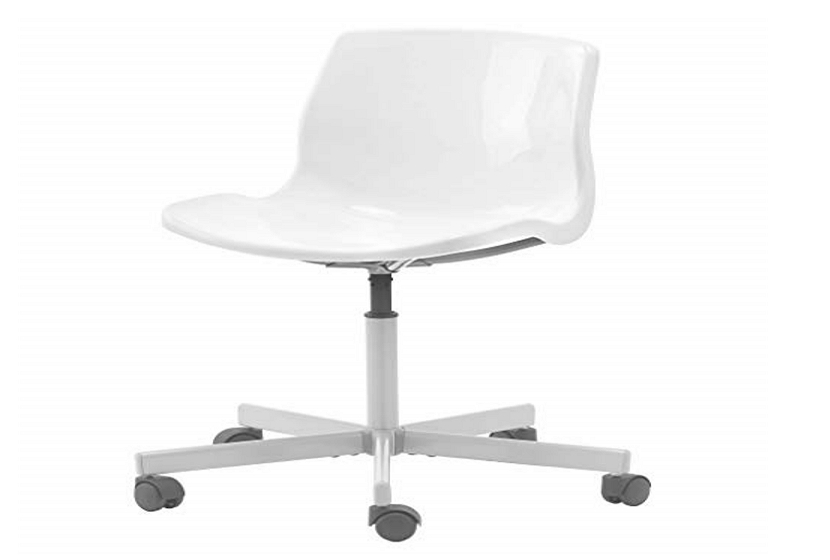 How to adjust an ikea snille swivel chair