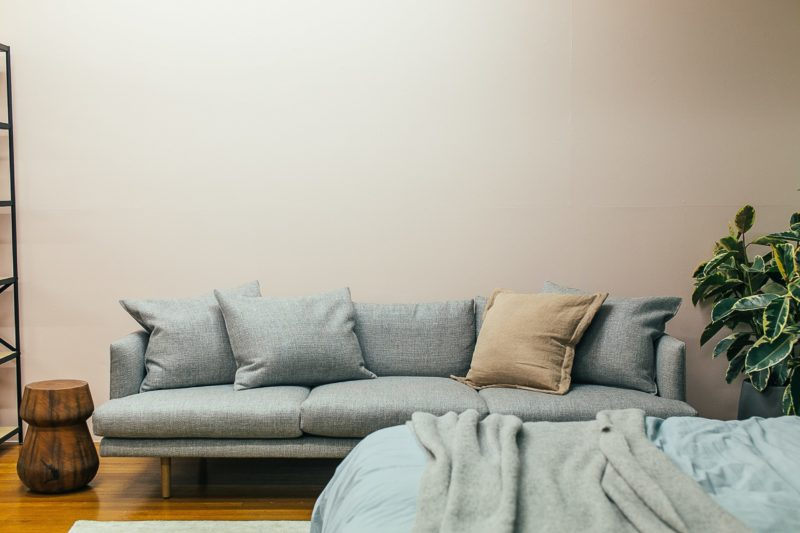 how to make a slipcover for a camel back loveseat